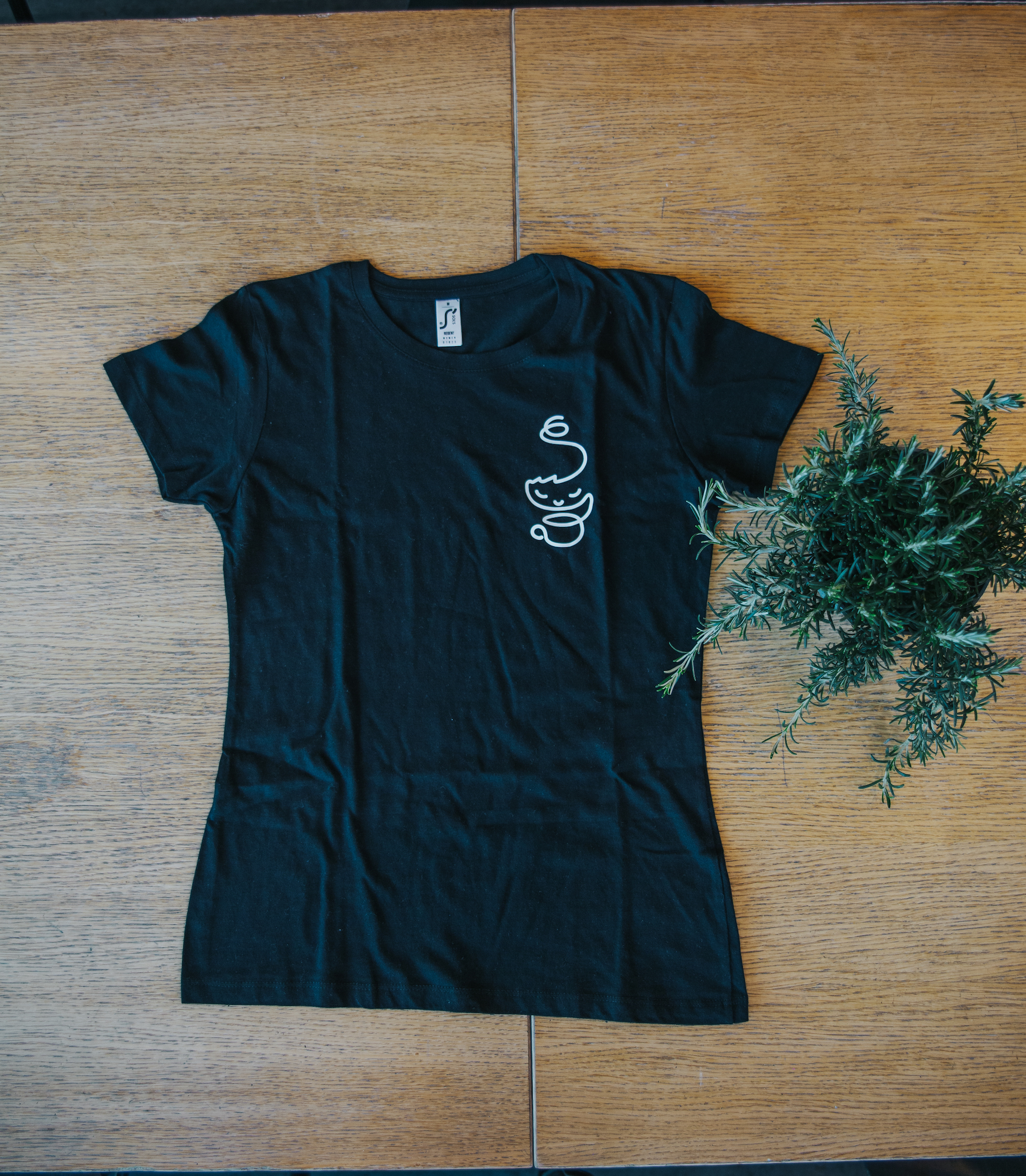 Women's T-shirt black