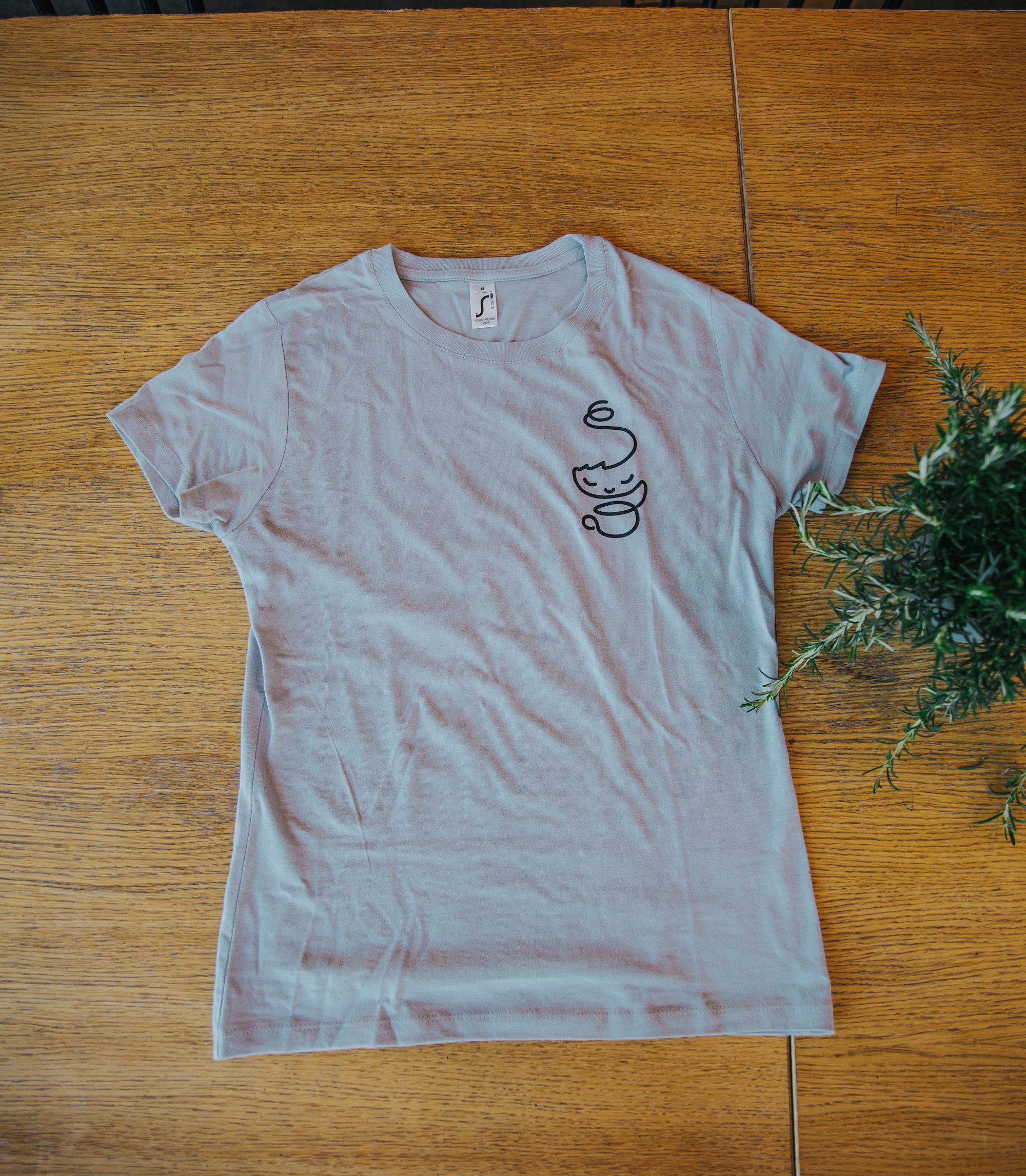 Women's T-shirt grey